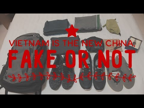 Vlog #7 Vietnam is the New China, Fake North Face, Adidas, Nike, Under Amour and more