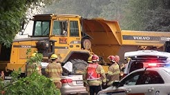 Fatal runaway construction site dump truck crash in Coquitlam