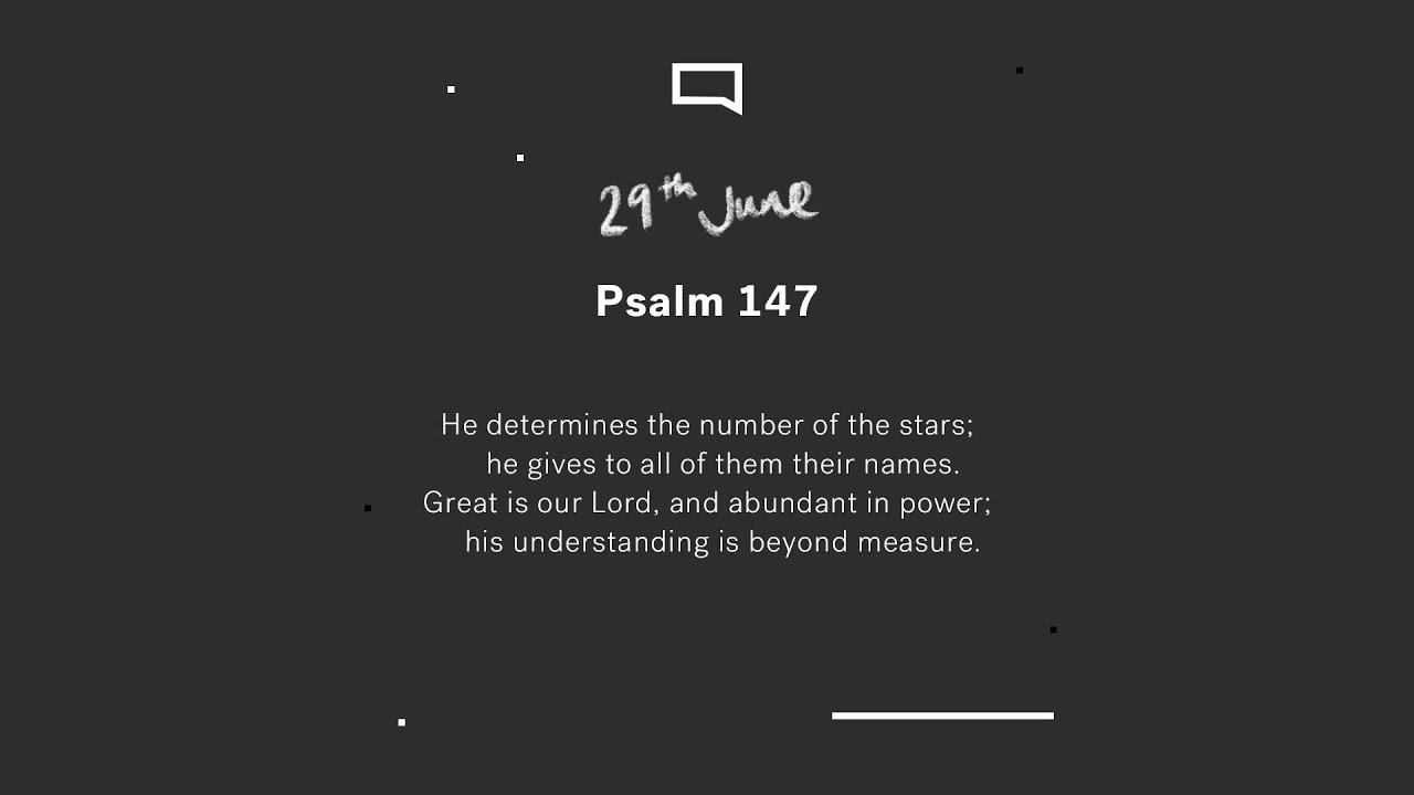 Daily Devotion with Steve Walford // Psalm 147 Cover Image
