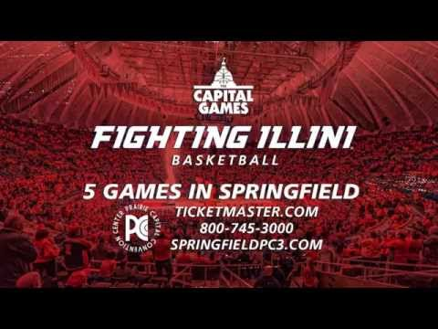 Fighting Illini Men's Basketball at PCCC in Springfield 2015