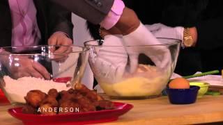Miss Robbie & Tim Make Honey Glazed Fried Chicken