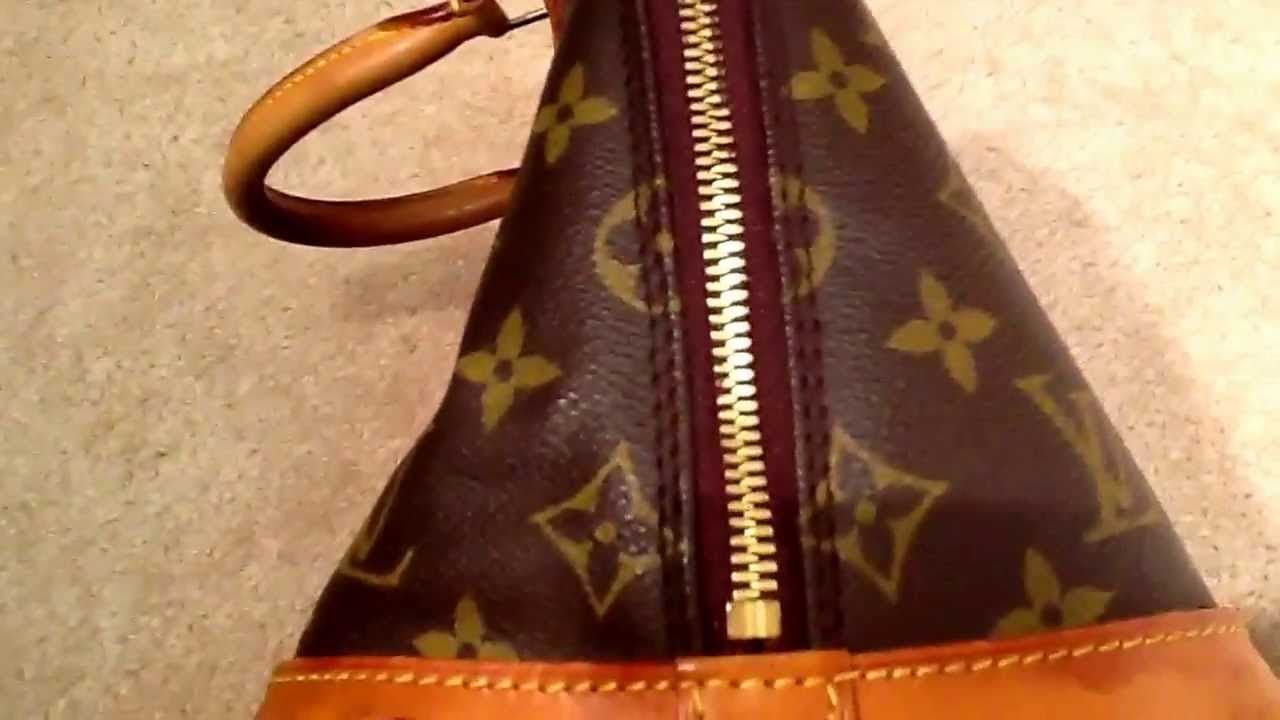 99cd67d9170e Help! Trying to authenticate Louis Vuitton alma monogram - YouTube