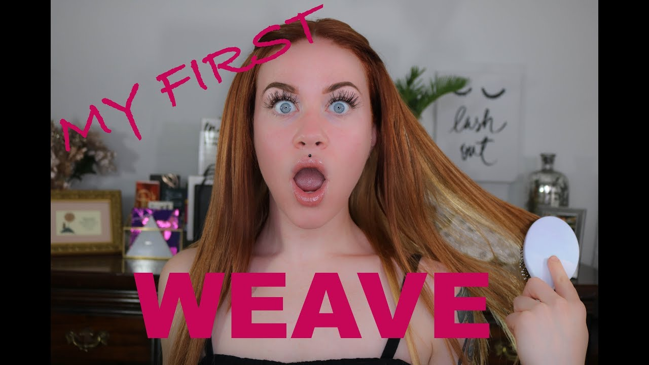 My First Weave Experience Caucasian Sew In Pros And Cons Youtube