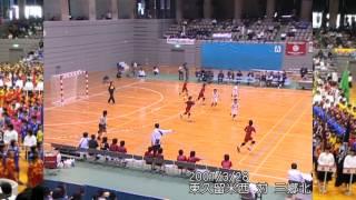 2007/3/28 平成18年度第2回春中ハンド1女子決勝前半