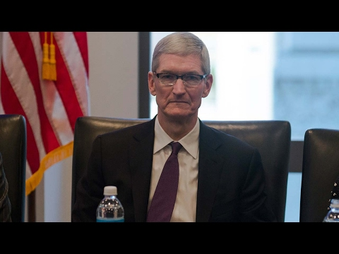 Apple CEO considers legal action against Trump's executive order