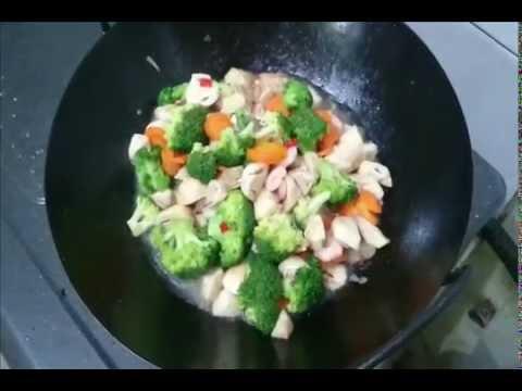 Resep Brokoli Cah Bawang Putih