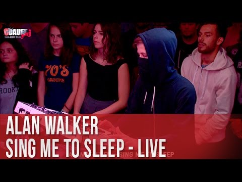 ALAN WALKER - Sing Me To Sleep - C'Cauet sur NRJ