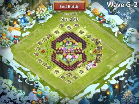 Castle Clash:Town Hall Lvl 16 HBM G