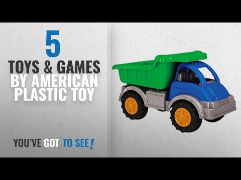 Top 10 American Plastic Toy Toys & Games [2018]: American Plastic Toys Gigantic Dump Truck