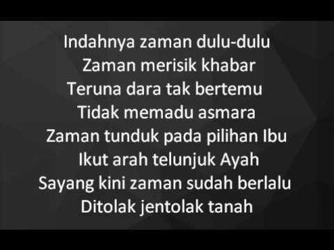 Dikir Temasek II - Adat Melamar lyrics