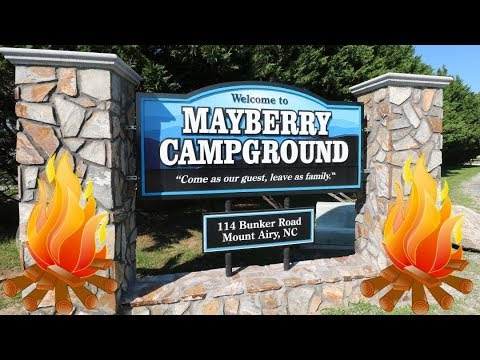 Review Of The Mayberry Campground In Mount Airy, North Carolina