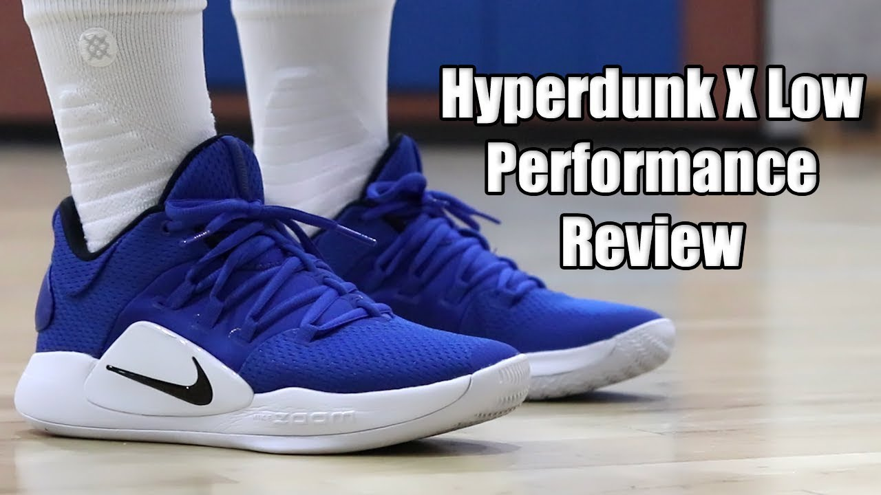 quality design ae671 d32e5 Nike HYPERDUNK X (10) LOW PERFORMANCE REVIEW!