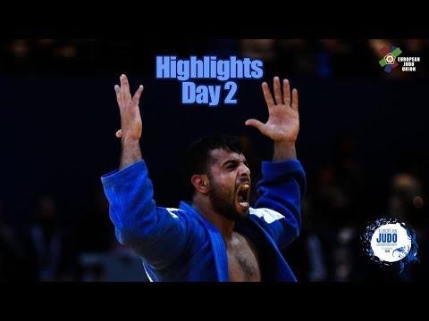 European Judo Championships Tel Aviv 2018: Highlights Day 2