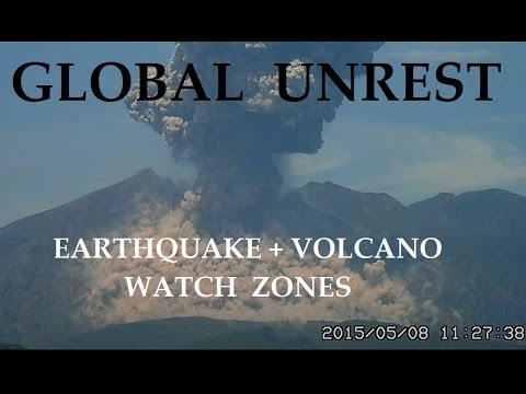 5/11/2015 -- Earthquake Unrest -- Next 7 day outlook -- Pacific be prepared