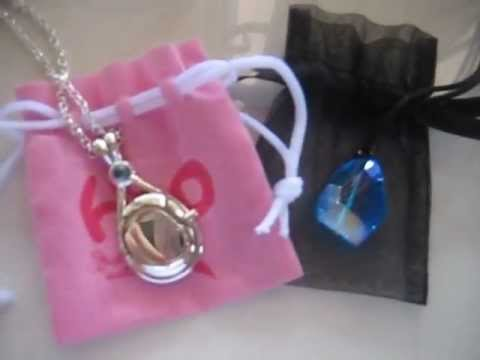 My H2o Locket And Crystal Necklace Youtube