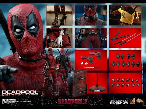 Hot Toys Deadpool 2 1/6 scale preview