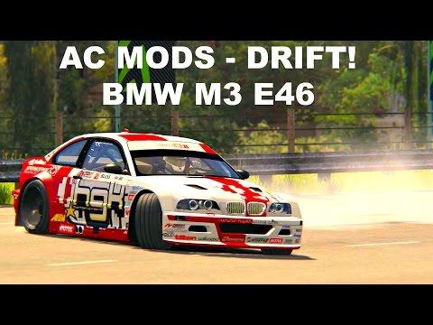 Assetto Corsa MODS BMW E46 M3 - DRIFT (STREAM HIGHLIGHT) - YouTube