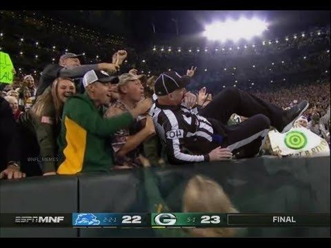 Detroit Lions Getting Cheated Vs Green Bay Packers (Compilation) Detroit Vs Everybody