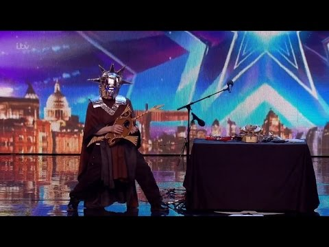Britain's Got Talent 2016 S10E01 Peter K Rollings The Make-shift Musician Full Audition