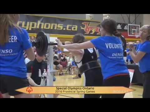 2016 Special Olympics Ontario Spring Games Closing Ceremonies