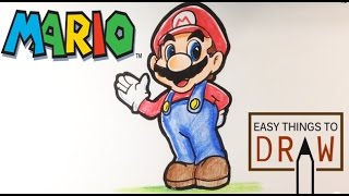 How to Draw Mario - Easy Things To Draw