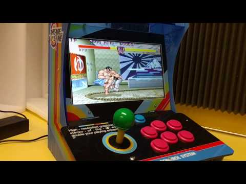 Pandora Box 5S Review - Mini Arcade with 1299 games!