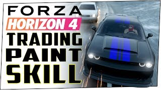 How to perform TRADING PAINT SKILL in FORZA HORIZON 4