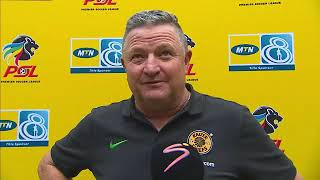 MTN8 | Kaizer Chiefs v Maritzburg United | Post-match interview with Gavin Hunt
