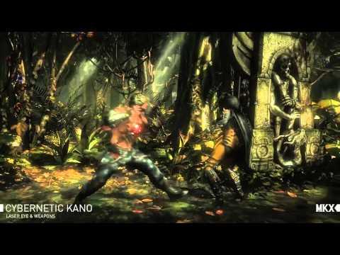 Mortal Kombat X Kano | official trailer gamescom (2015) 60 fps