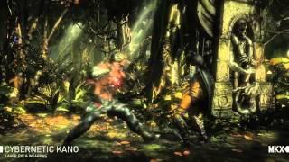 Mortal Kombat X Kano   official trailer gamescom (2015) 60 fps
