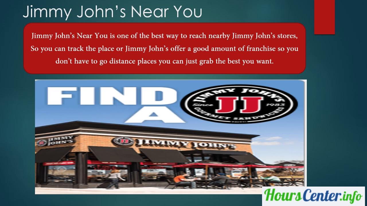 Jimmy John S Near Me And Jimmy John S Hours And Jimmy John S Details