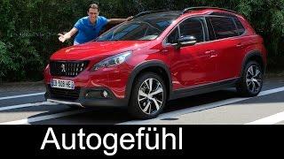 Peugeot 2008 GT-Line FULL Review test driven Facelift 2016/2017 - Autogefühl