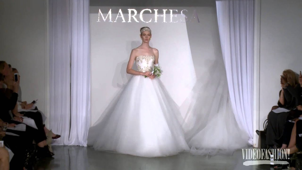 9d7bc5ad90 Marchesa Bridal Autumn/winter 2013-14 - Videofashion #2002526 - Weddbook