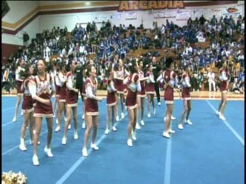 Wilson High School Cheerleaders at SHARP