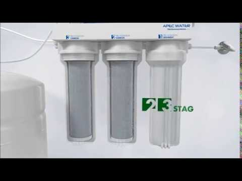 dea40b3a864 APEC Top Tier 5 Stage Ultra Safe Reverse Osmosis Drinking Water Filter  System ESSENCE ROES 50 review