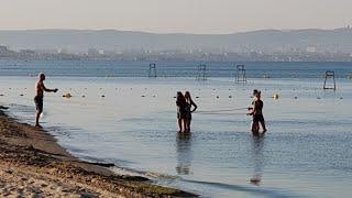 Черное море 6.50 утра 18.08.2018 - САДО МАЗО - КАМКА - есть ли чистое море