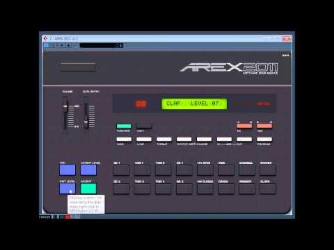 AREX 2011 - Free Yamaha RX-11 Drum Module VSTi Plugin!