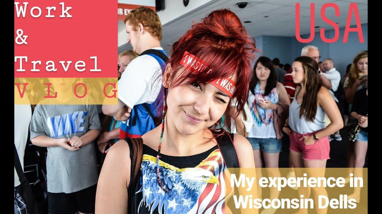 Amalia's Work&Travel Vlog (Wisconsin Dells)