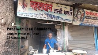Pahalwan Lassi Bhandaar Of Benares, India