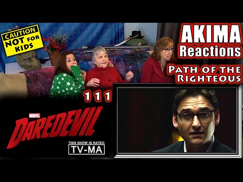 DAREDEVIL 111 | The Path of the Righteous | AKIMA Reactions