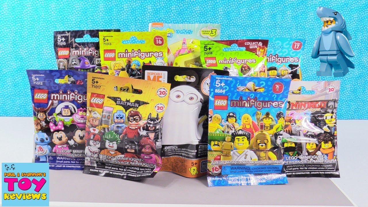 Lego Blind Bag Minifigures Series Ninjago Batman Disney