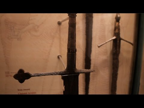 Monasterevin Sword and its replica by Vince Evan