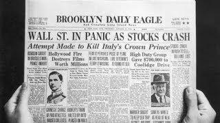 El Crack Bursátil de 1929 - La Gran Depresión - Jueves Negro - Wall Street Crash of 1929
