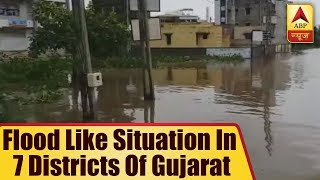 TOP NEWS: Flood Like Situation In 7 Districts Of Gujarat, Death Toll Reaches 28 | ABP News