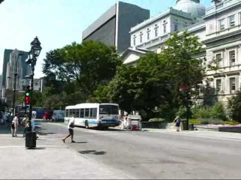 Montreal Travel: Walking past Court Buildings to Place Jacques Cartier in Old Montreal