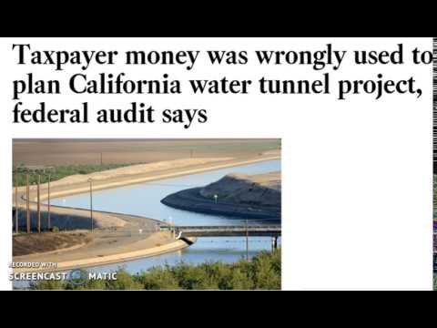TUNNELS...Taxpayer money was wrongly used...FEDERAL AUDIT