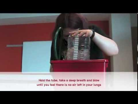 Lung Capacity - a BodyWorks On Tour science experiment
