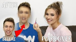 FULL GLAM MAKEOVER ON MINIMINTER | Talia Mar
