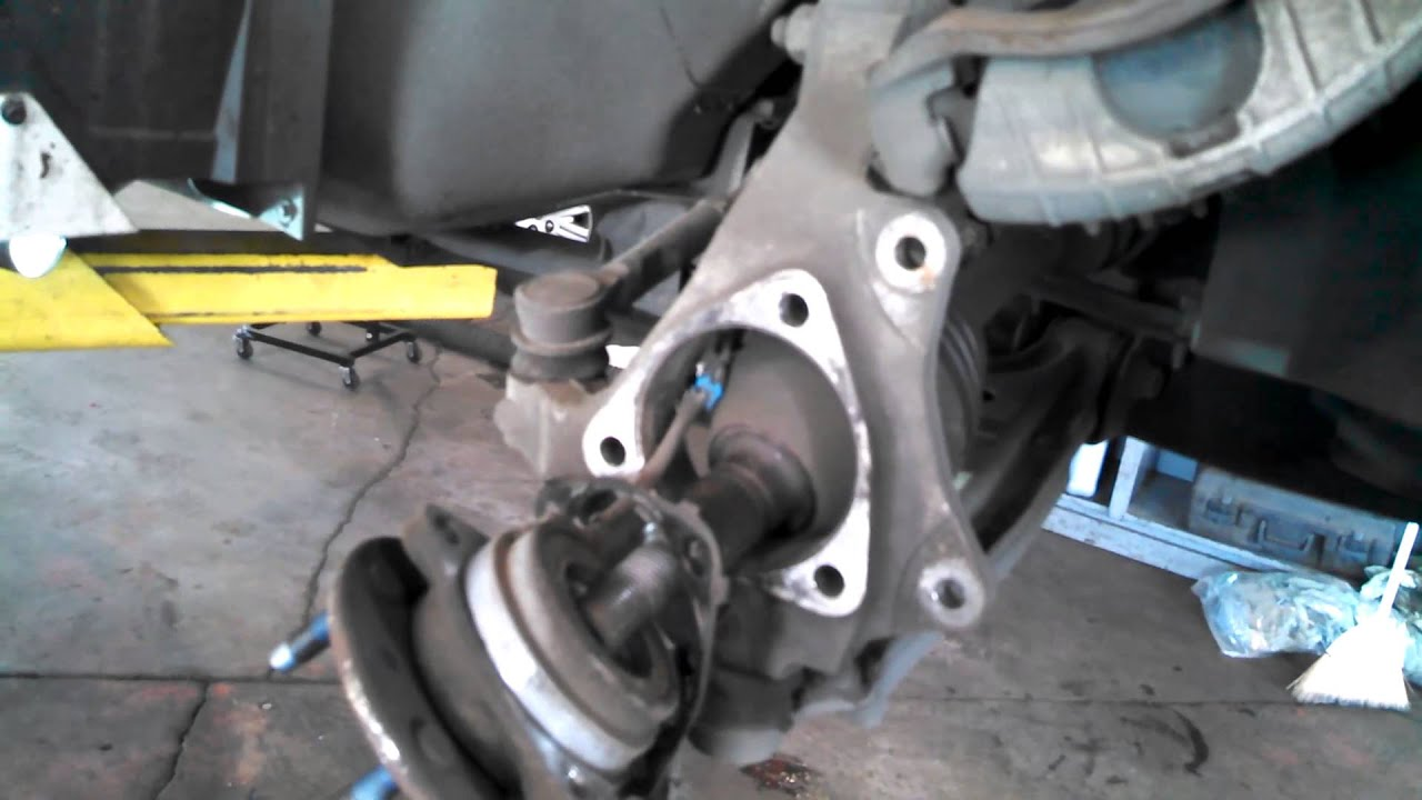 Hub Assembly Wheel Bearing Replacement 2000 Pontiac Grand Am Malibu Alero Install Remove Youtube