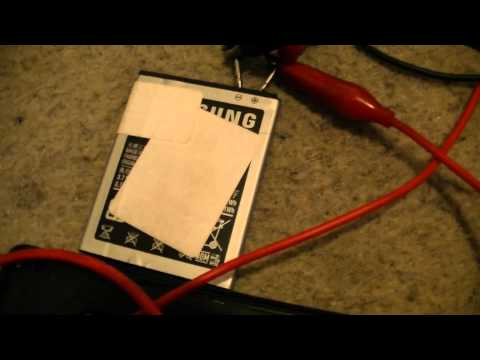 Handy Akku mit Labornetzteil laden - eflose #366